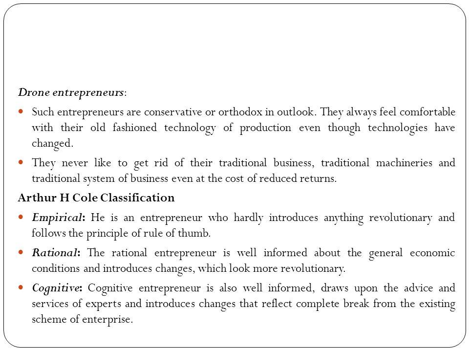Drone entrepreneurs: