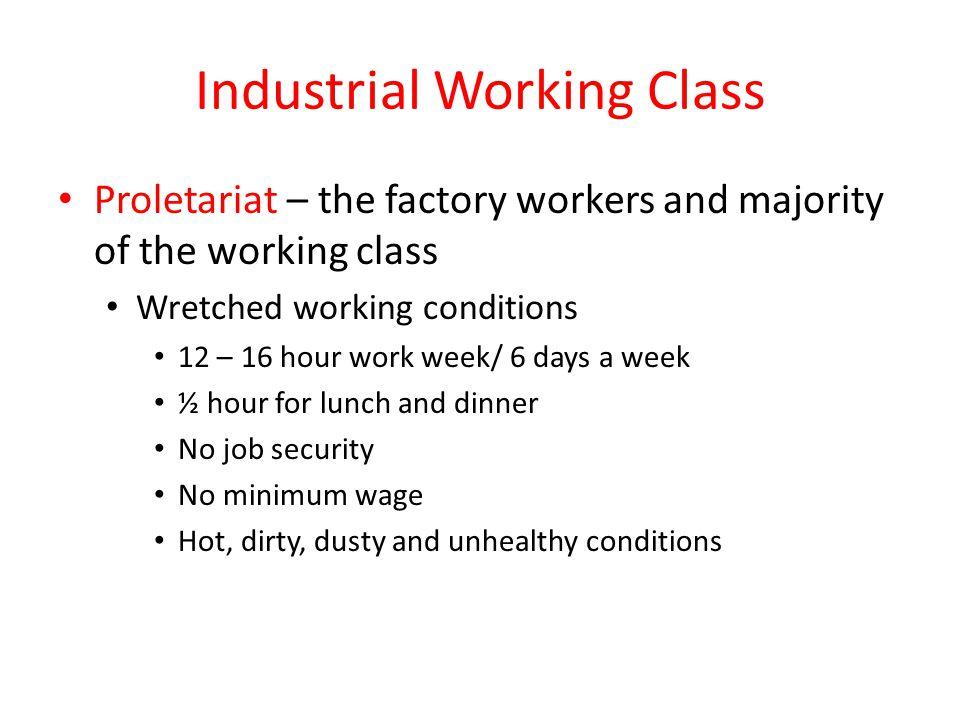 Proletariat workers