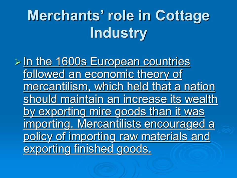 contribution of cottage industry to the An evaluation of the challenges and prospects of micro and  according to the national council on industry  micro/cottage industry is an industry whose total.