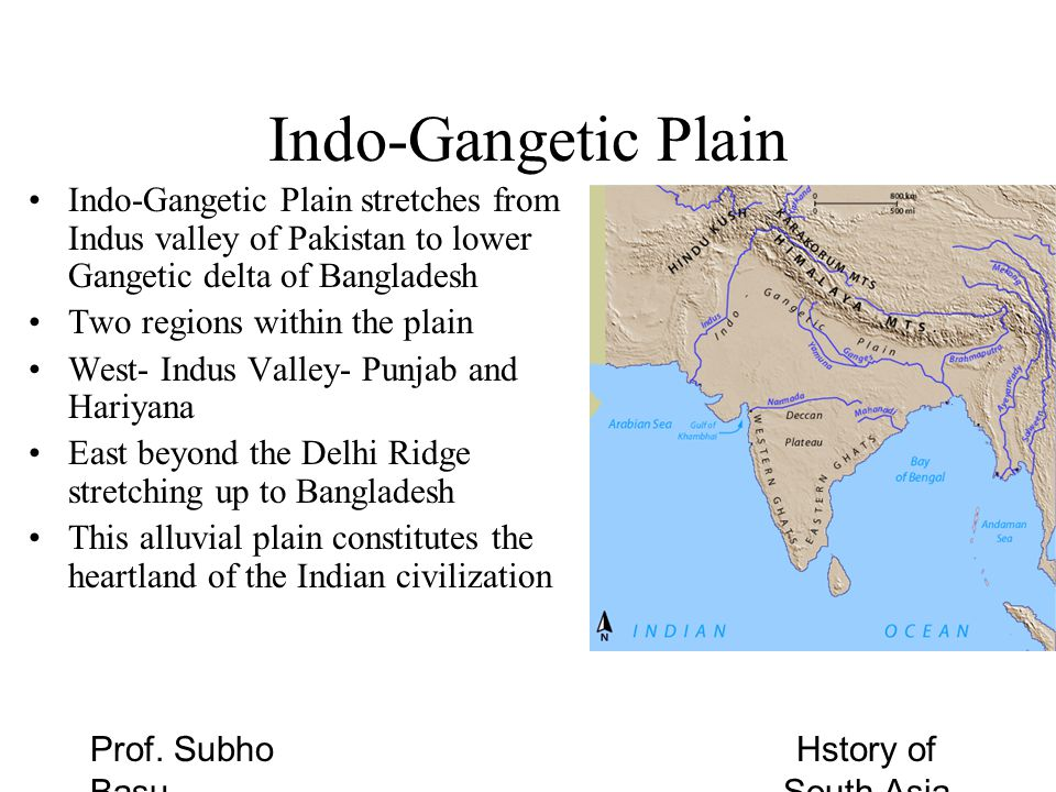South Asia Geography Part Two - ppt download Indo Gangetic Plain Map