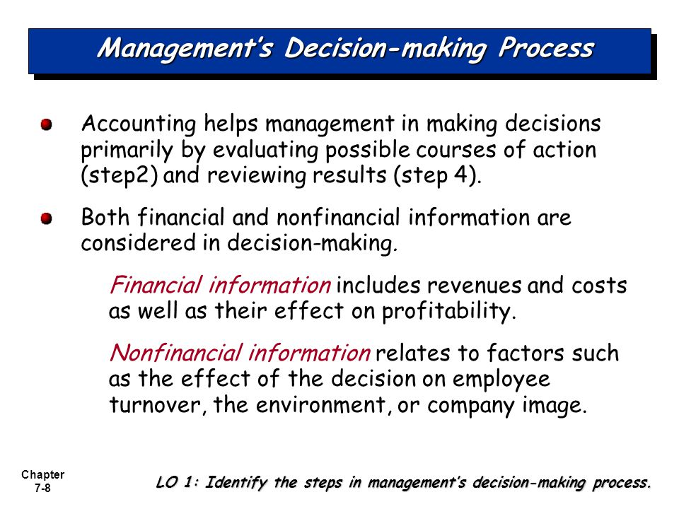 Market analysts approach decision making process