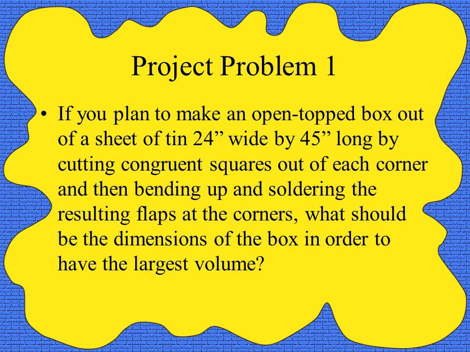 Project Problem 1
