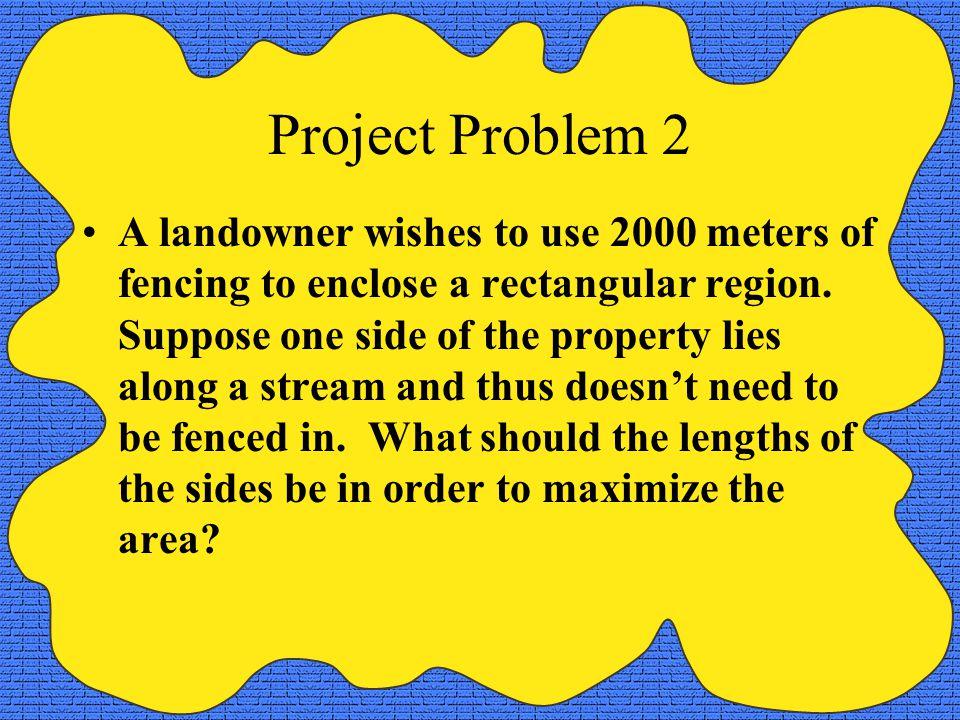Project Problem 2