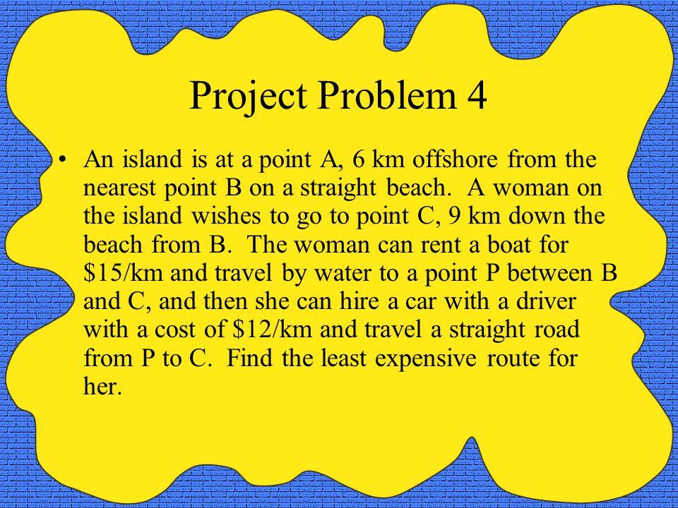 Project Problem 4