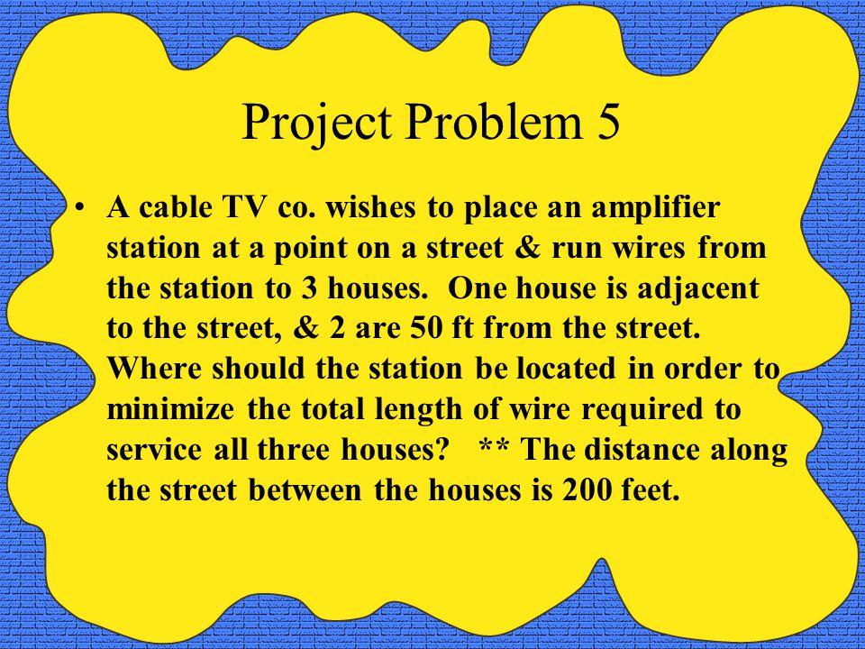 Project Problem 5