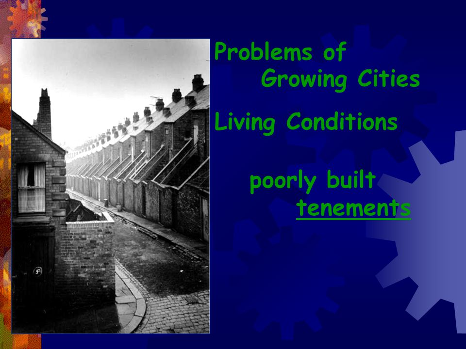 Problems of Growing Cities