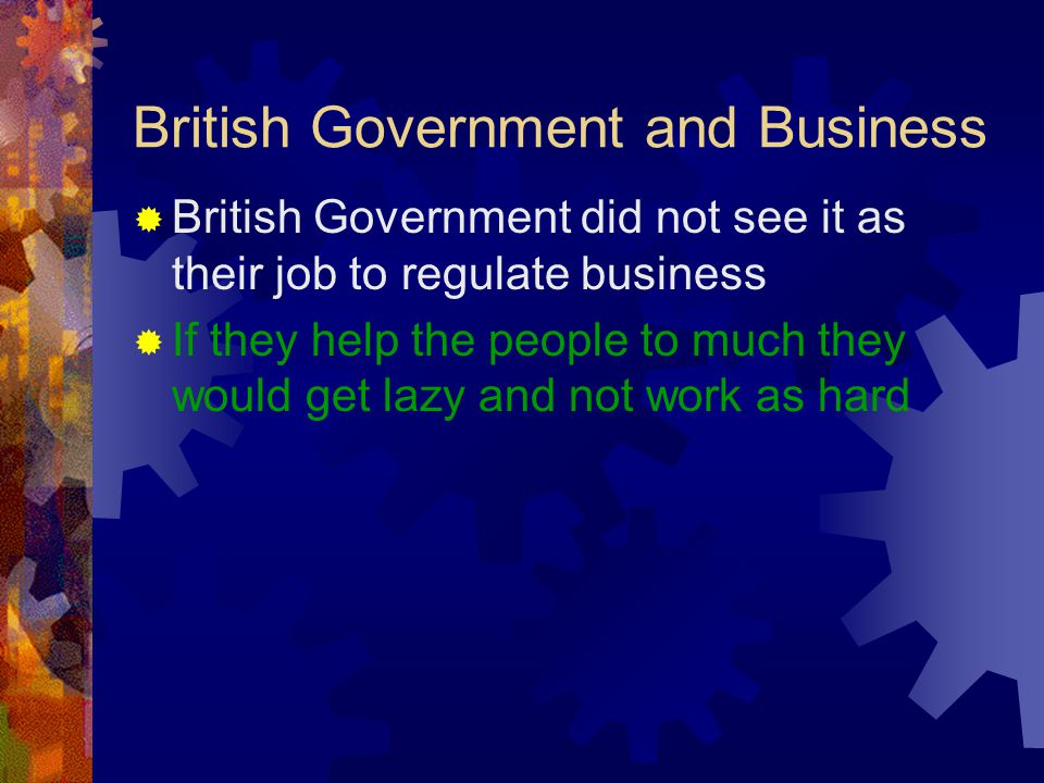 British Government and Business
