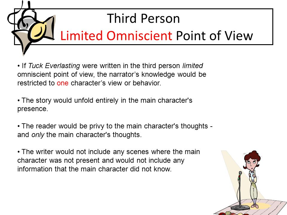 Third Person Limited Omniscient Point of View