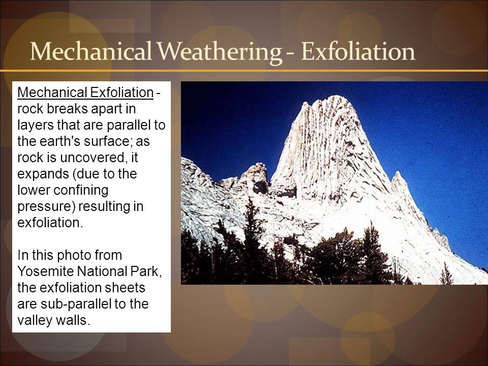 Mechanical Weathering - Exfoliation