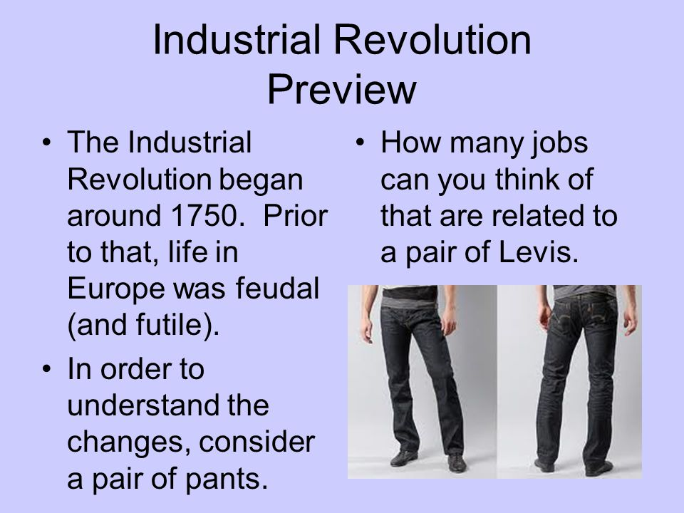 Industrial Revolution Preview