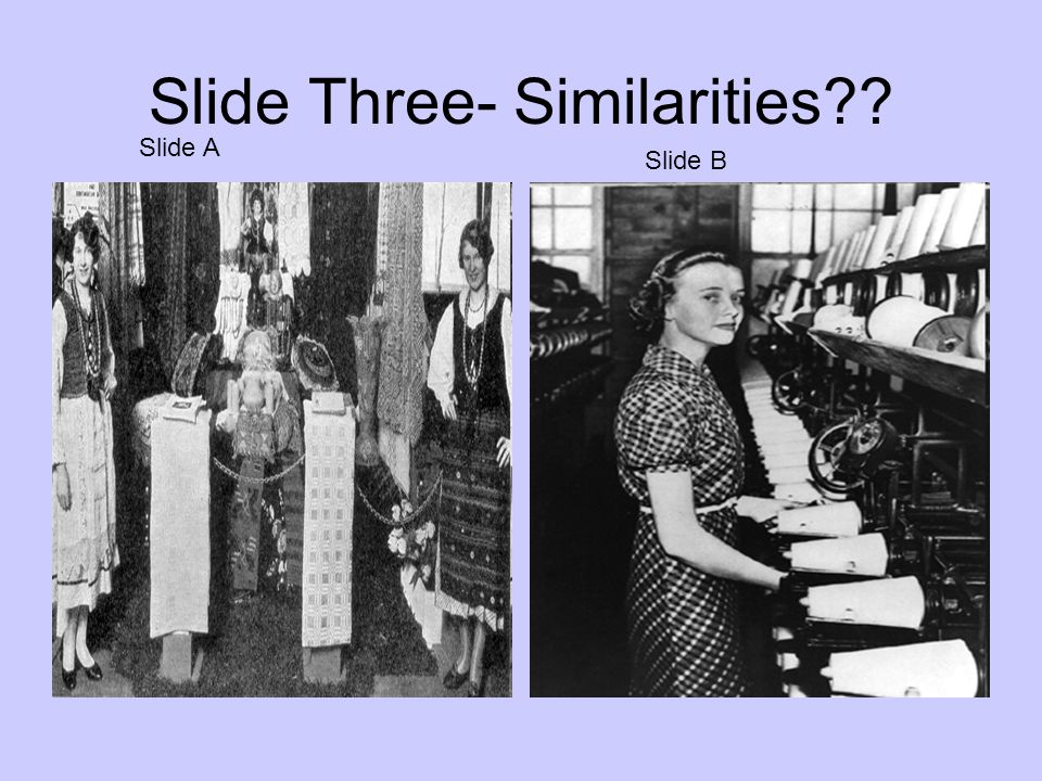 Slide Three- Similarities