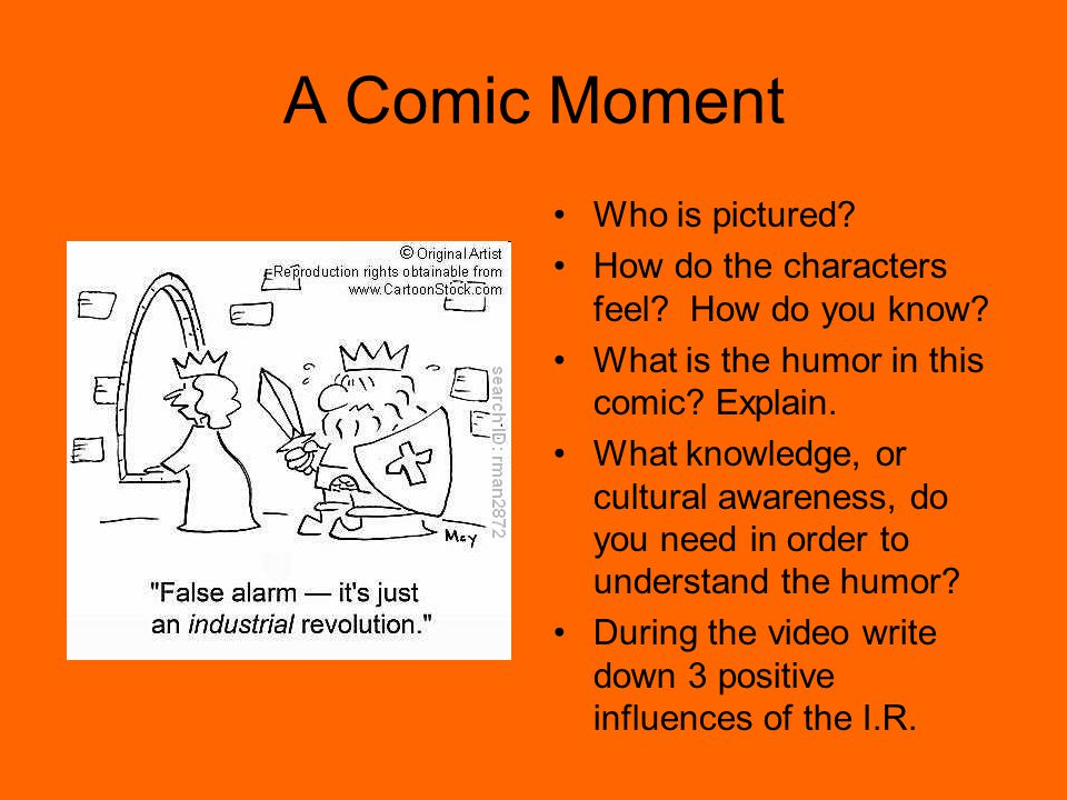 A Comic Moment Who is pictured