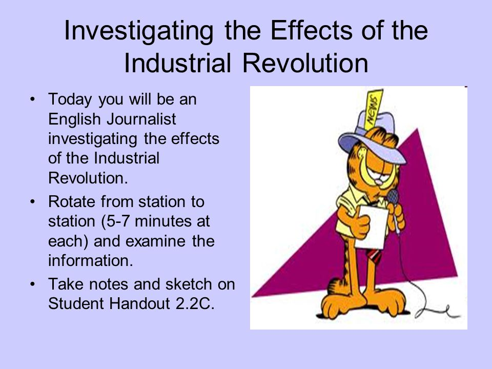 Investigating the Effects of the Industrial Revolution