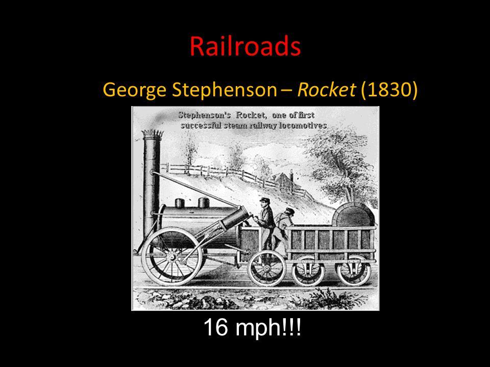 George Stephenson – Rocket (1830)
