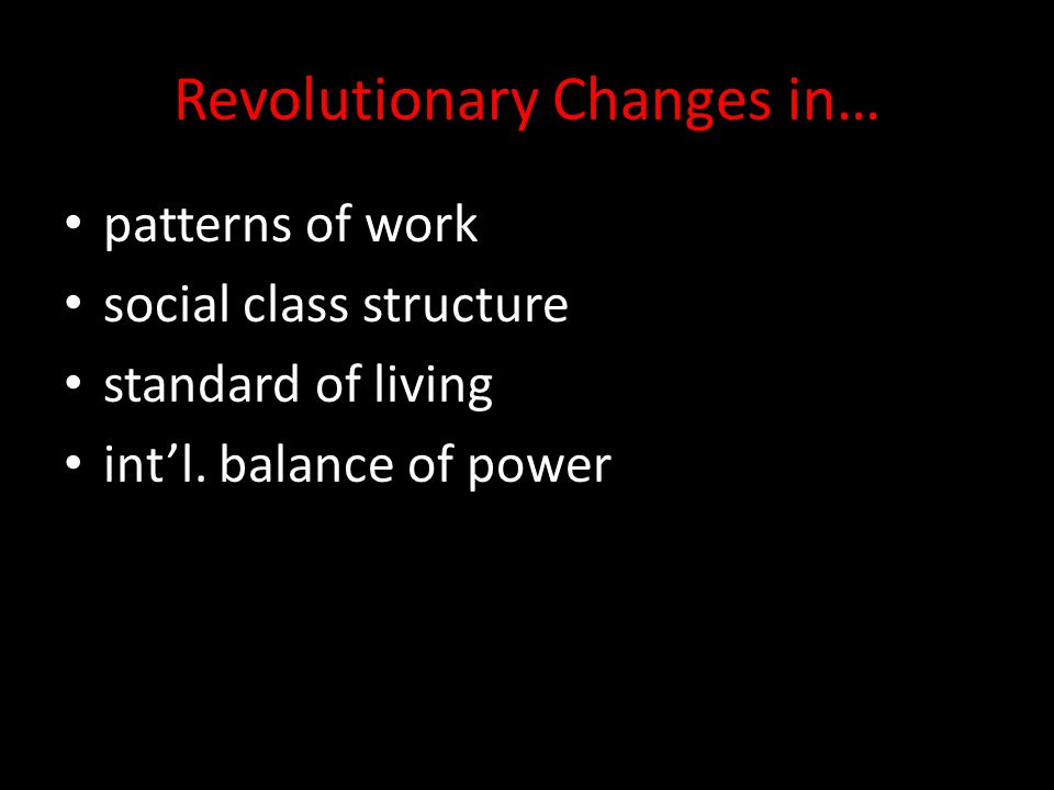 Revolutionary Changes in…