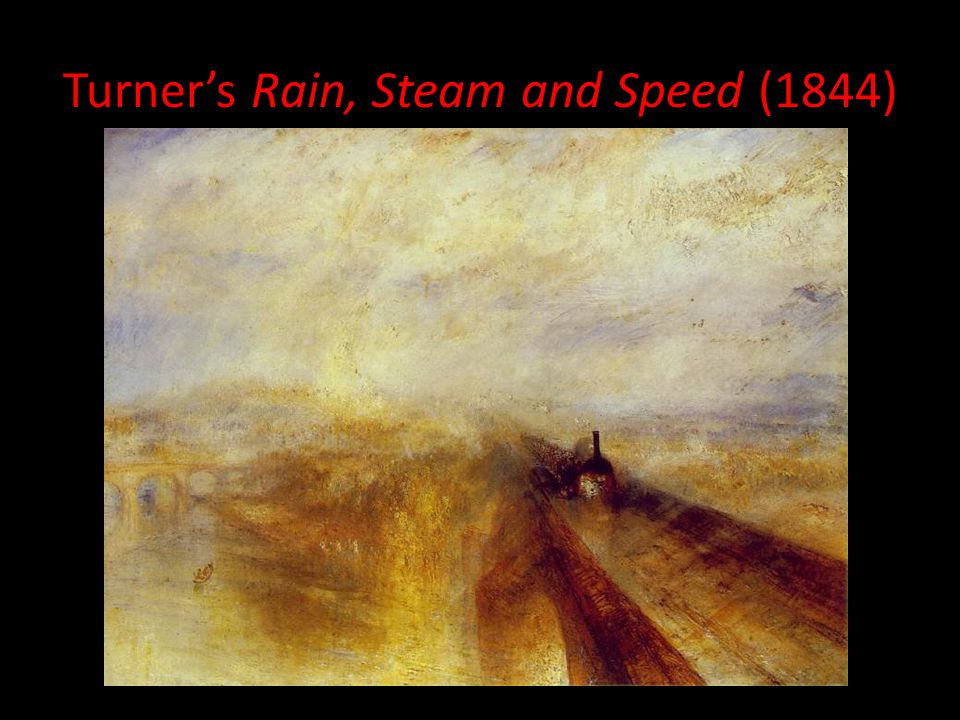 Turner's Rain, Steam and Speed (1844)