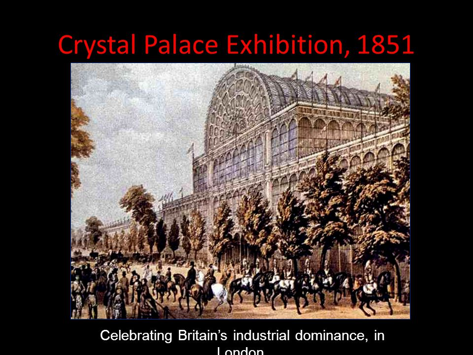 Crystal Palace Exhibition, 1851