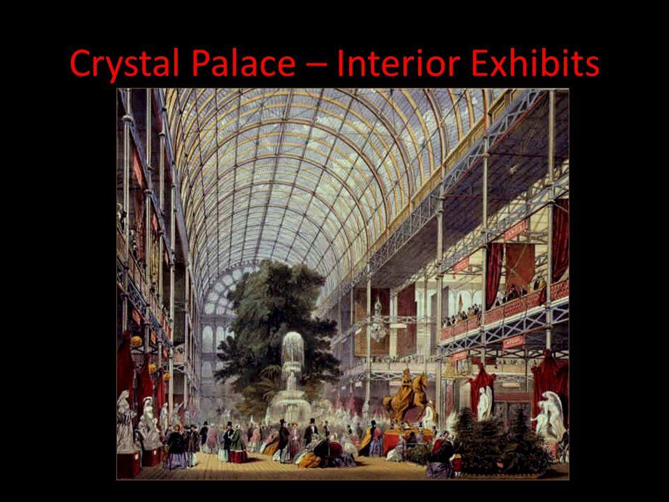 Crystal Palace – Interior Exhibits