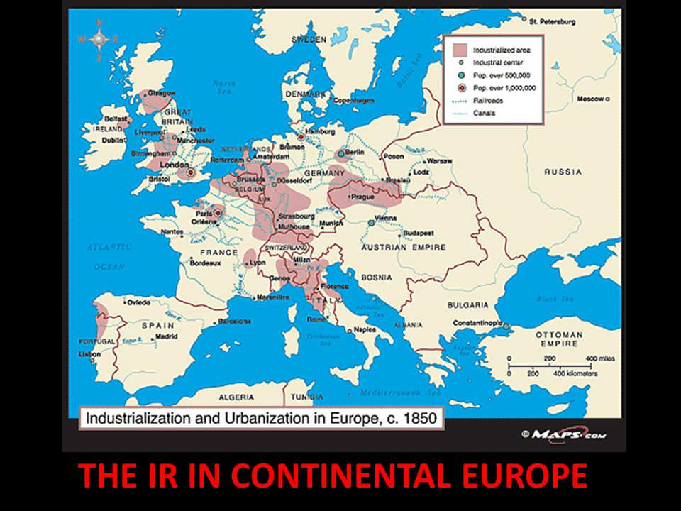 The ir in continental europe