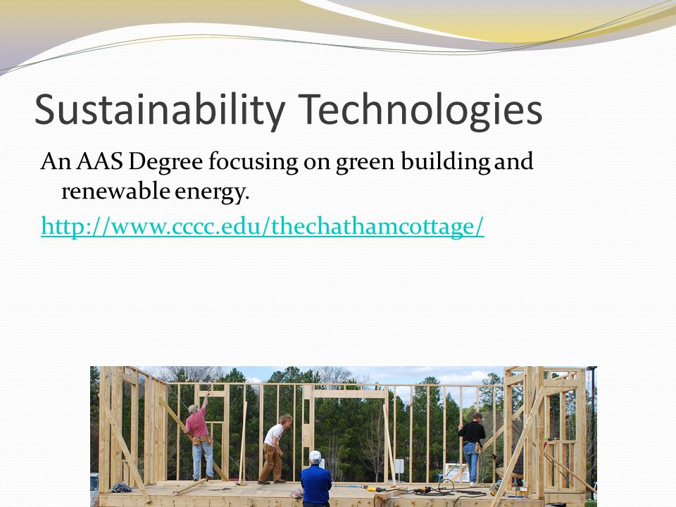 Sustainability Technologies