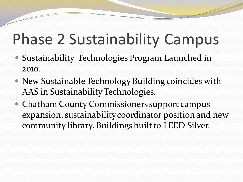 Phase 2 Sustainability Campus