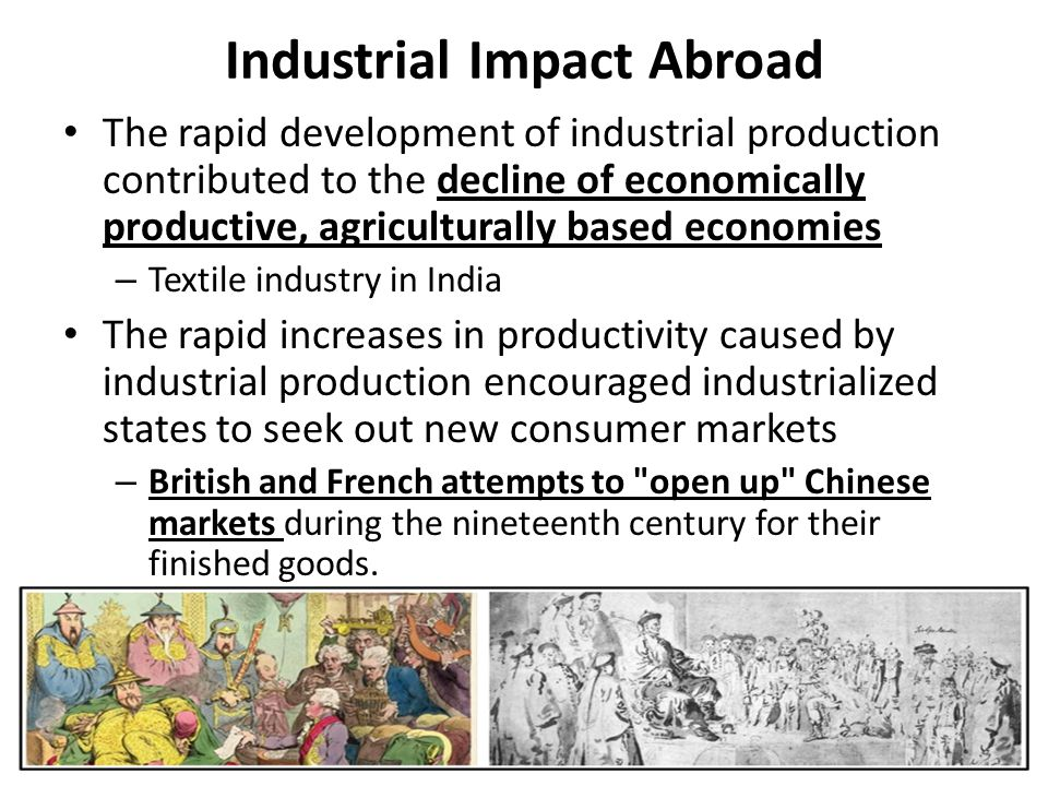 Industrial Impact Abroad