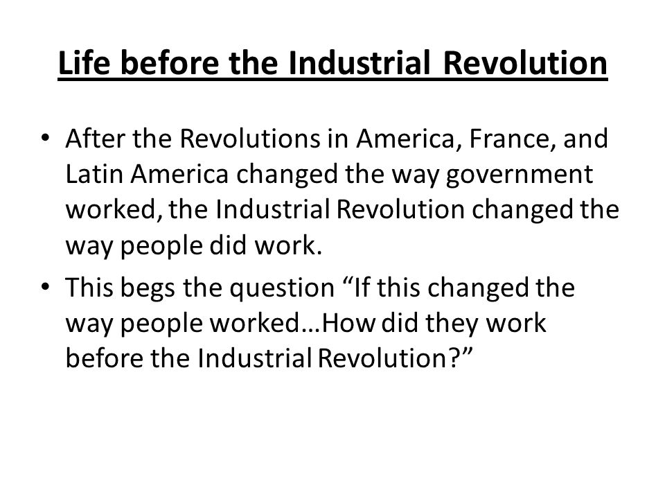 how did the industrial revolution change america The industrial revolution was a major change in the nature of production in which machines replaced tools and steam and other  during the industrial.