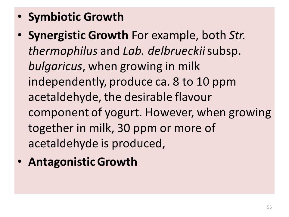 Symbiotic Growth