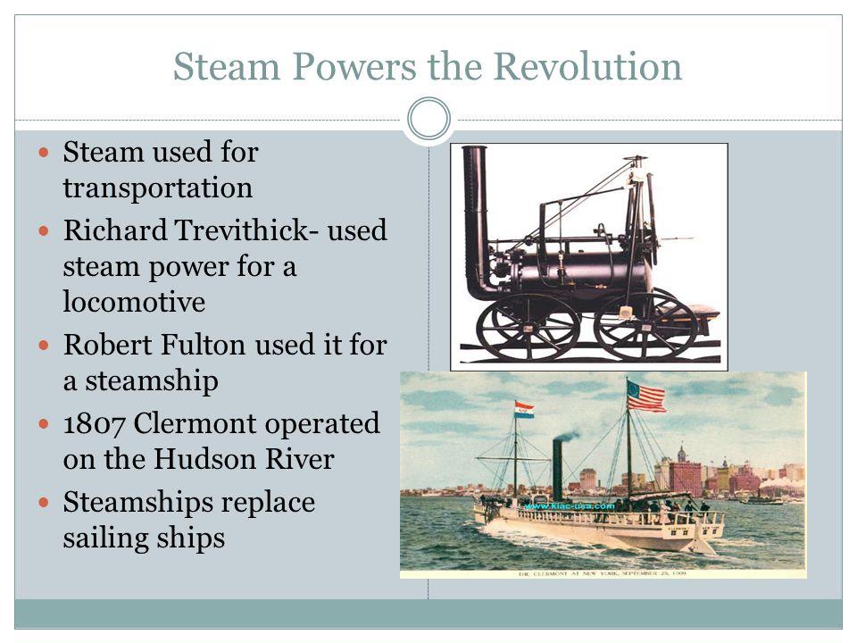 Steam Powers the Revolution
