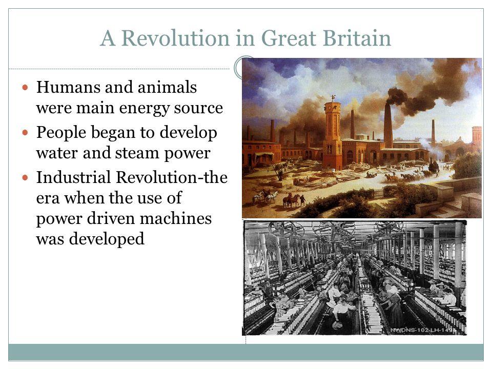 A Revolution in Great Britain