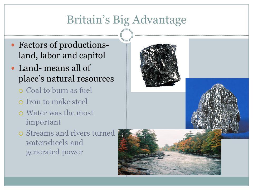 Britain's Big Advantage