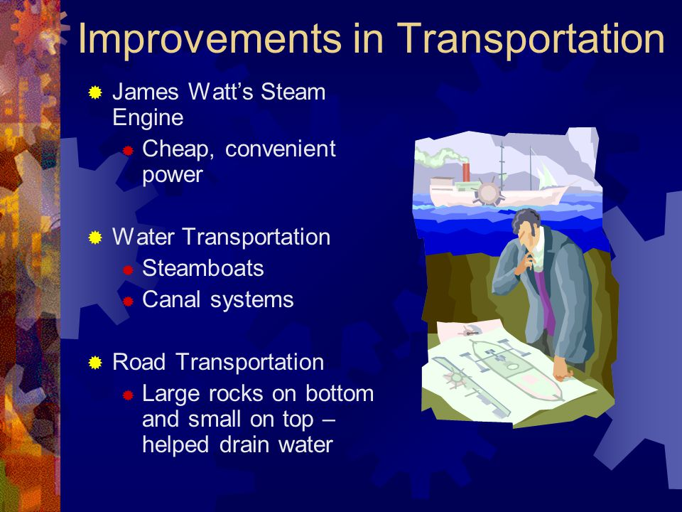 Improvements in Transportation
