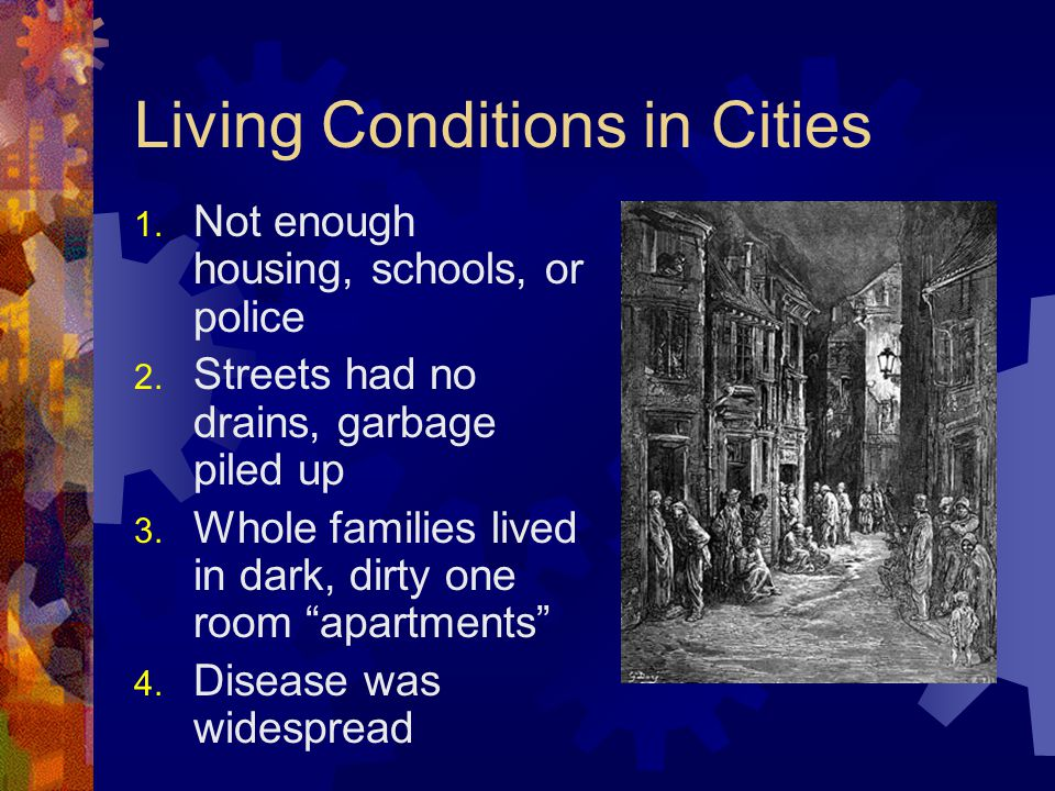Living Conditions in Cities