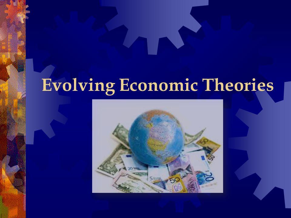 Evolving Economic Theories