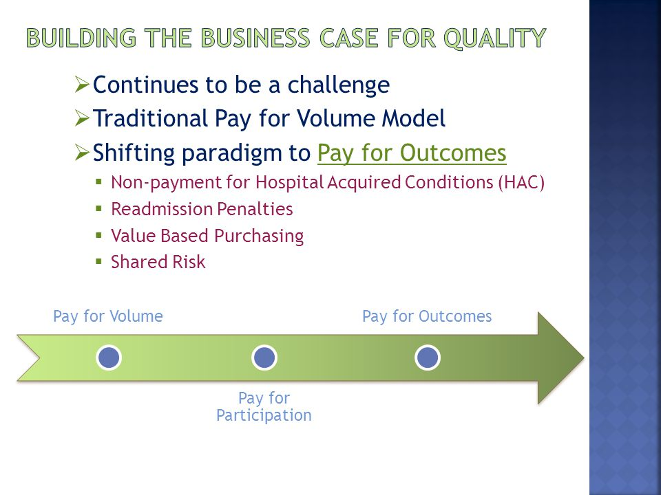 Building the Business Case for Quality