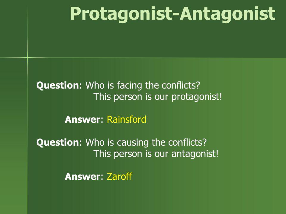Protagonist-Antagonist