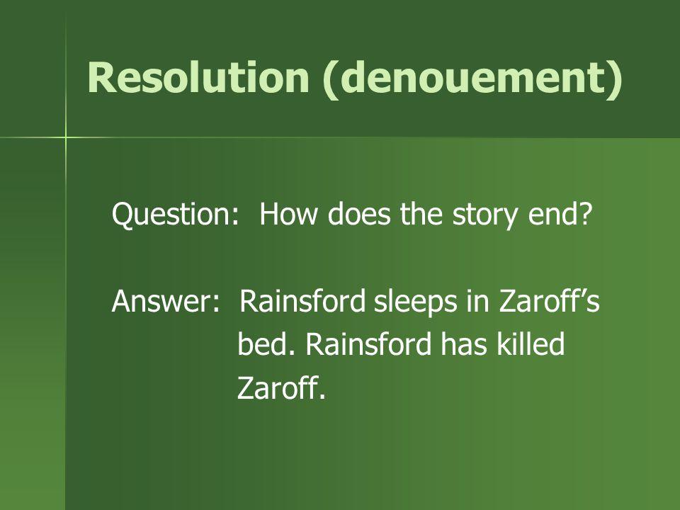 Resolution (denouement)