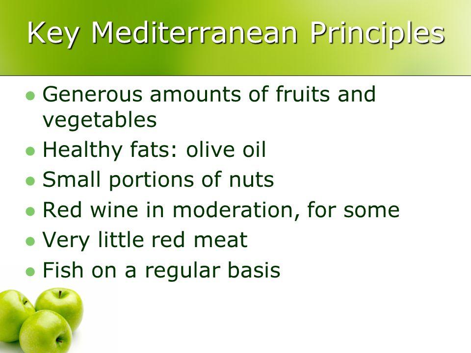 Key Mediterranean Principles