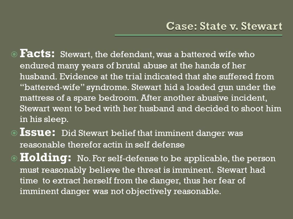 Case: State v. Stewart