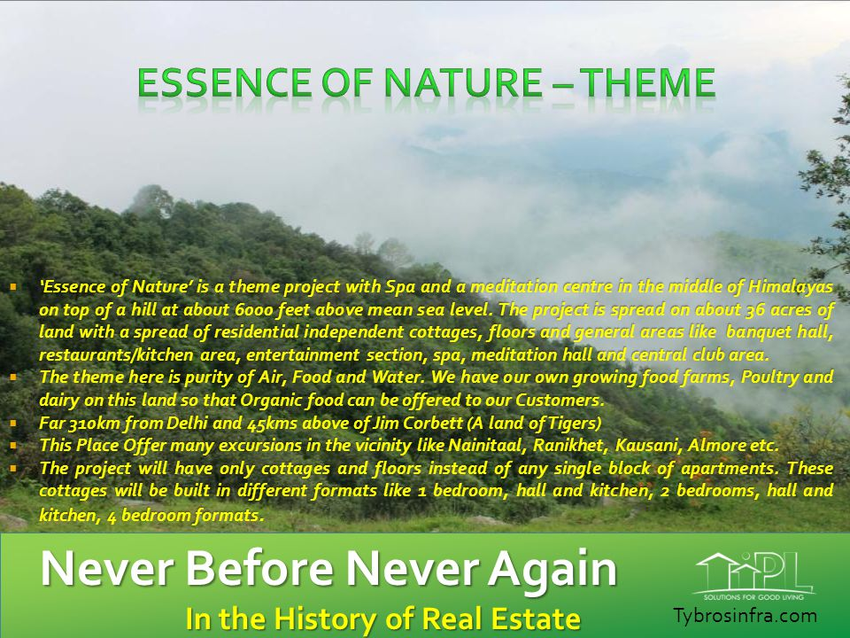 Essence of Nature – Theme
