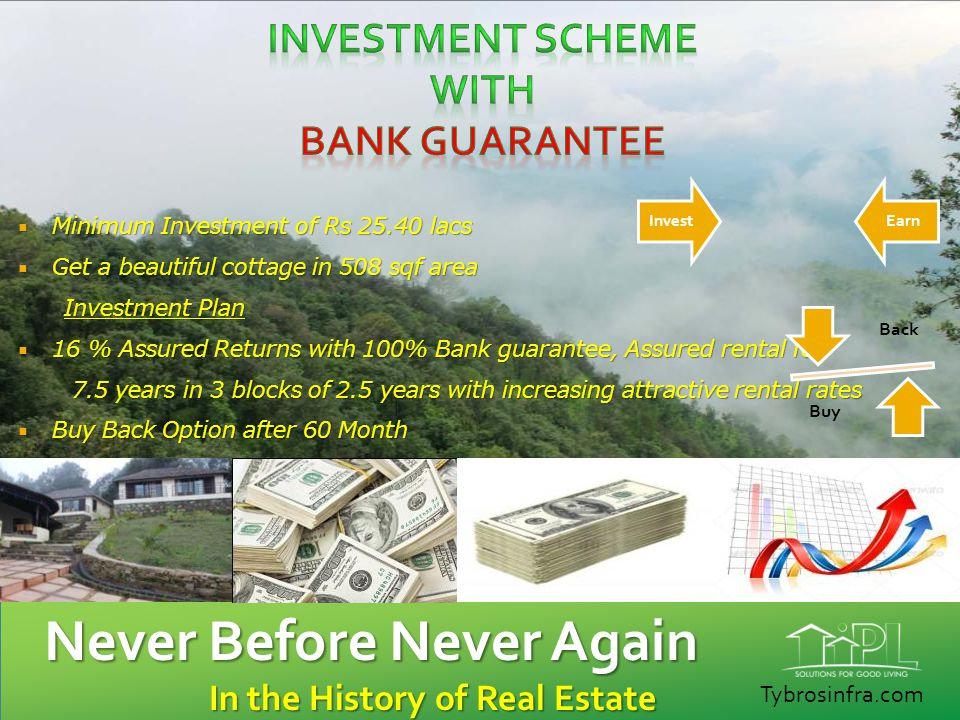 Investment Scheme WITH BANK GUARANTEE