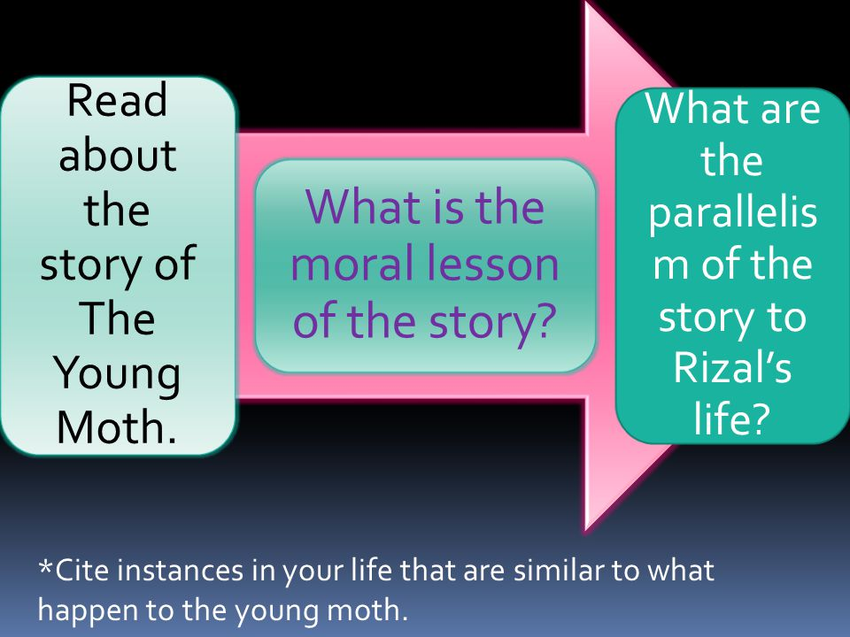 What is the moral lesson of the story