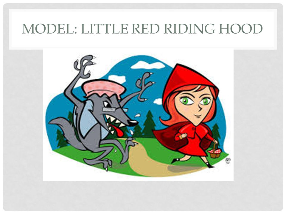Model: Little Red Riding Hood