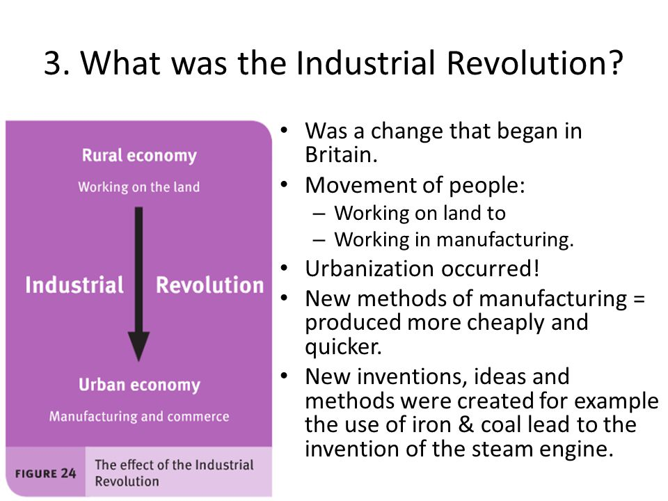 3. What was the Industrial Revolution