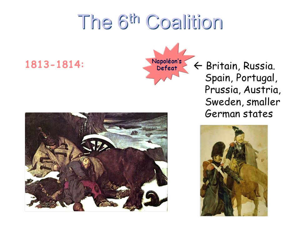 The 6th Coalition 1813-1814: France 