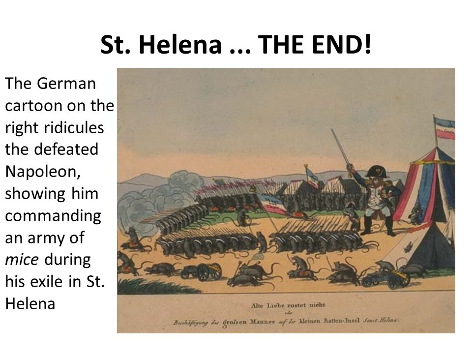 St. Helena ... THE END!