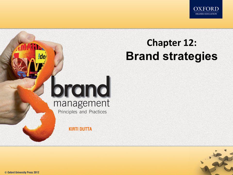 Chapter 12: Brand strategies