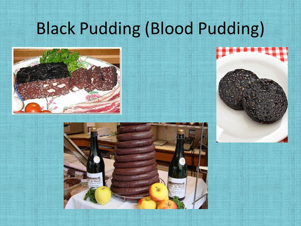 Black Pudding (Blood Pudding)