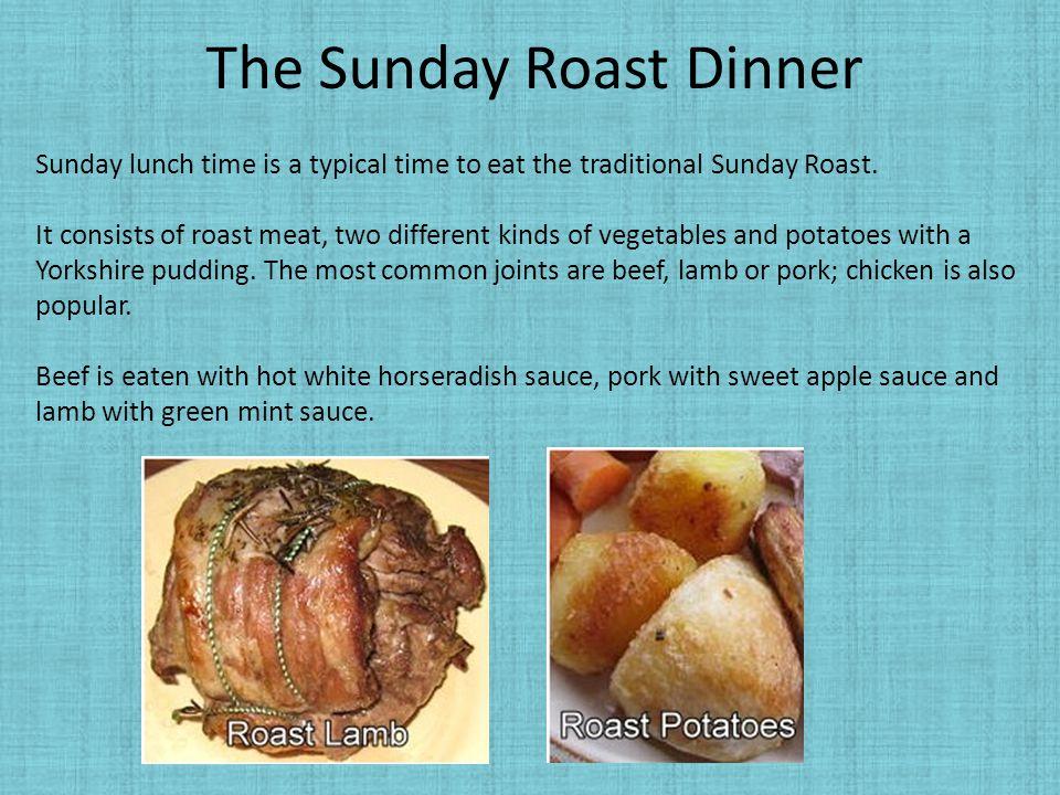 The Sunday Roast Dinner