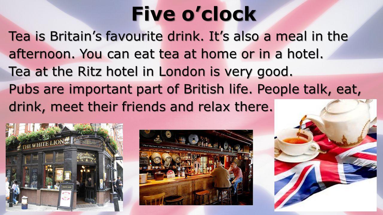 Five o'clock